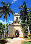 Church in Bauta, Artemisa Province, Cuba.