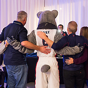 Gonzaga alumni gather in Cataldo Hall Globe Room Oct. 8 to celebrate the beginning of the 2016 alumni weekend. (Photo by Edward Bell)