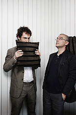 Daniele Luchetti and Elio Germano (la nostra vita), May 2010