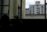 Caracas - Barrio di San Bernardino dove alloggiano gli sfollati dalla catastrofe del 2002 nell'Estado Bergas