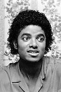 Michael Jackson 1971 at his Encino home..© Chris Walter.