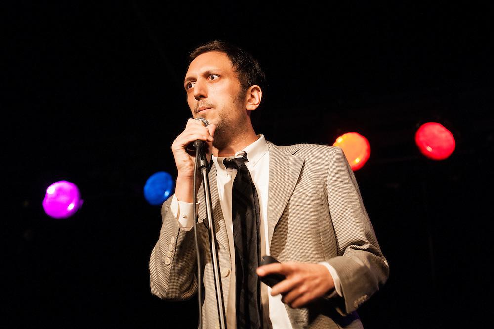 Charlie Kasov as Dr. Katz - Schtick or Treat 2013 - Littlefield, Brooklyn - October 27, 2013