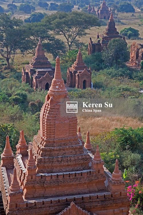 Ancient temples and pagodas, Bagan, Myanmar