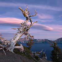 Crater Lake 7-47 PM