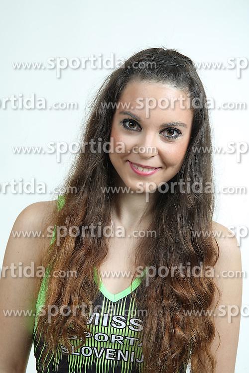 Katja Korosec na izboru za Miss Sporta Slovenije 2015, on January 21, 2015 in Bled, Slovenia. Photo by Vid Ponikvar / Sportida