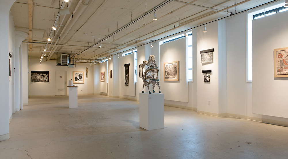 Installation views for Tyler Green & Brittany Kieler BFA exhbition