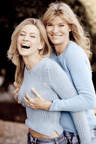 Karen Moore and Carrie Sisson, June 2010