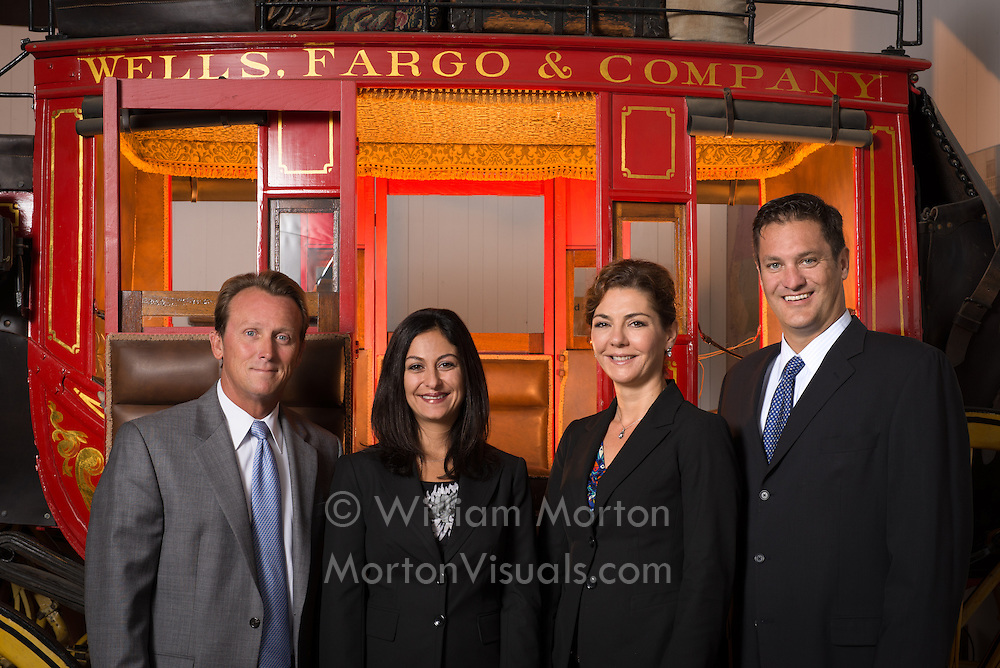Kevin Dyerly and the Wells Fargo Advisors photographed in Old Town San Diego by Dallas corporate photographer William Morton of Morton Visuals.