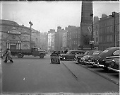 1952 - Traffic scenes on O'Connell Street, Dublin