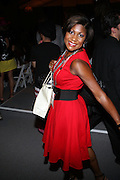 Jocelyn Taylor at The Tracey Reese Show held at the Salon during the Spring 2010 Fashion Week on September 14, 2009