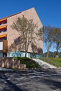 Aarhus University's Business School Building S (Handelshøjskolen), Denmark. Architect: Cubo Arkitekter A/S. Engineer, Søren Jensen