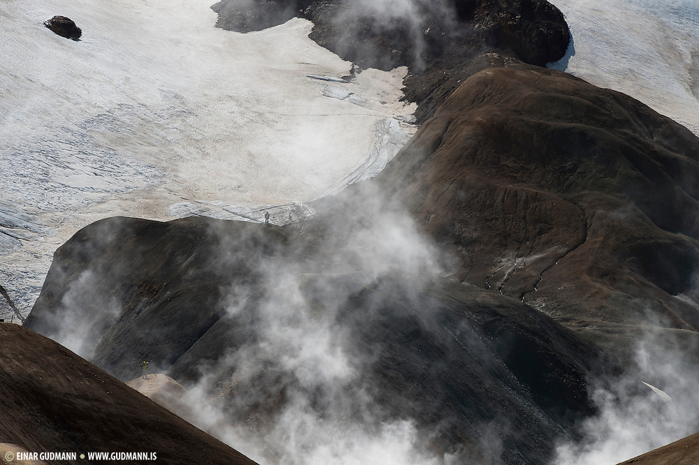 Kerlingarfjöll in the hightland of Iceland.