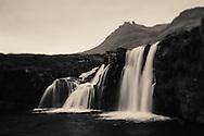 Waterfalls near Grundarfjorthur, Iceland