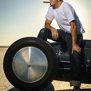 Bobby Green of Old Crow Speedshop, El Mirage, CA   Garage Magazine