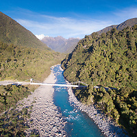 Fox River and Haast Highway, Westland National Park