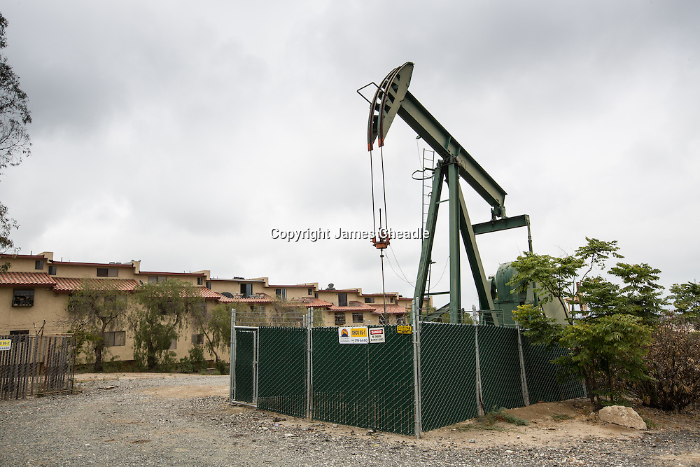 the Oil Fields of LA, California.