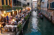 Small canal, Venice, Venetia, Italy