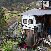 An Eco-village in the hills of northern Spain called Matavenero. It is a self sustained community living on its own with a variety of ethnic groups. Image © Angelos Giotopoulos/Falcon Photo Agency