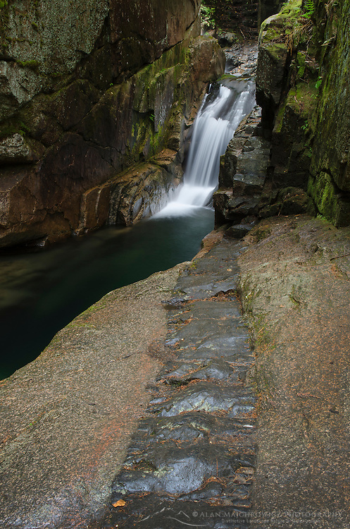 Sabbaday Falls, White Mountains, New Hampshire