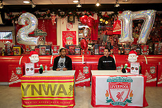 101126 Liverpool Players Signing Session