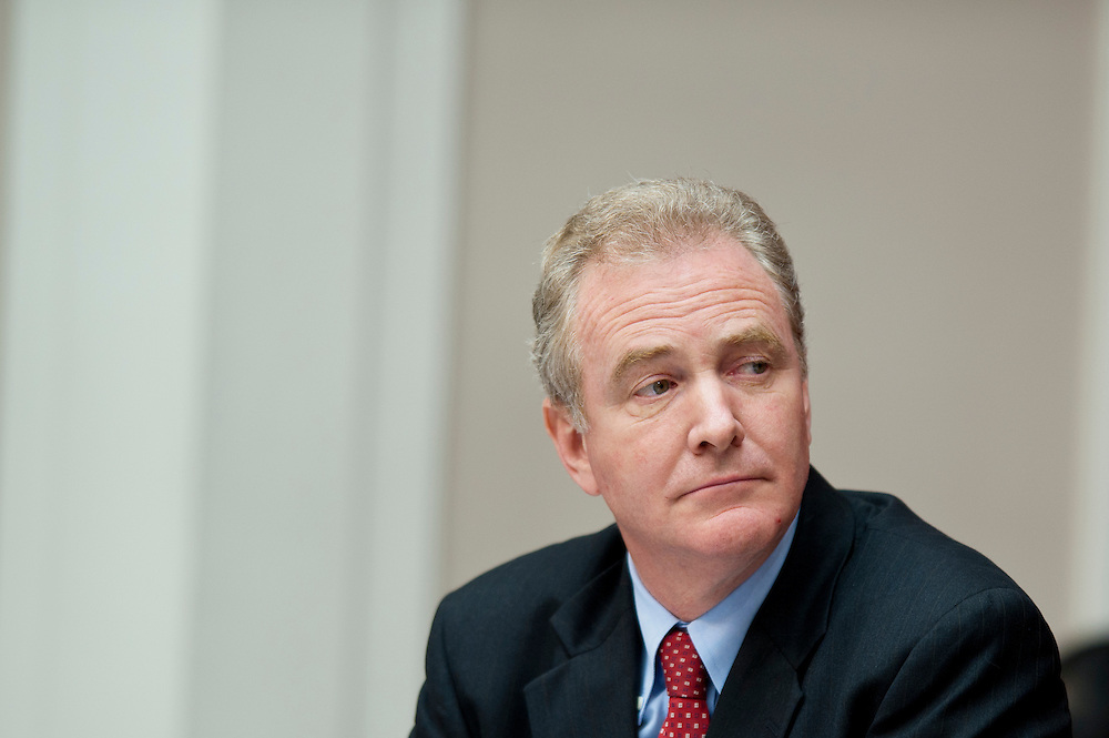 The Joint Deficit Reduction Committee meets on Capitol Hill Thursday to make opening statements and consider proposed committee rules. The committee has a 76-day deadline to come up with a deficit reduction plan totaling $1.5 trillion that can win congressional approval. PICTURED: Rep CHRIS VAN HOLLEN (D-MD)