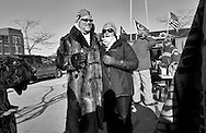 Tailgating in the parking lot of Lambeau Field in Green Bay, Wisconsin Sunday, Jan. 8, 2017.
