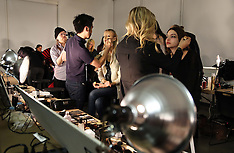 FEB 09 2013 Backstage at the Tibi show at New York Fashion Week A/W 2013
