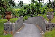 Walls with urns in Parque Nacional la Guira, Pinar del Rio Province, Cuba.