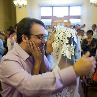 Celebracion del matrimonio entre Hector Armando Hurtado Grooscors y Katheryne Vanessa Molina Medina. Caracas, 12 dic. 2009 (ivan gonzalez)
