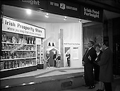 1966 Food Fortnight window display at N.A.I.D.A., St. Stephen's Green, Dublin
