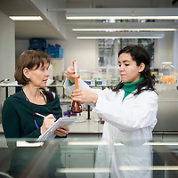 USE ARROWS ( &larr; or &rarr; ) on your keyboard to navigate the slide-show<br /> <br /> Leuven, Belgium 28 January 2014<br /> Researcher Paola Palmero and professor Ann Van Loey.<br /> Photo: Ezequiel Scagnetti