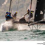 GC32 RIVA CUP, Lago di Garda, Italy. Jesus Renedo/Sailing Energy/GC32 Racing Tour. 15 September, 2019.<span>Jesus Renedo/GC32 Racing Tour</span>