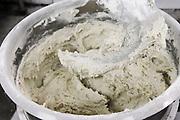 Industrial Bakery. Kneading dough