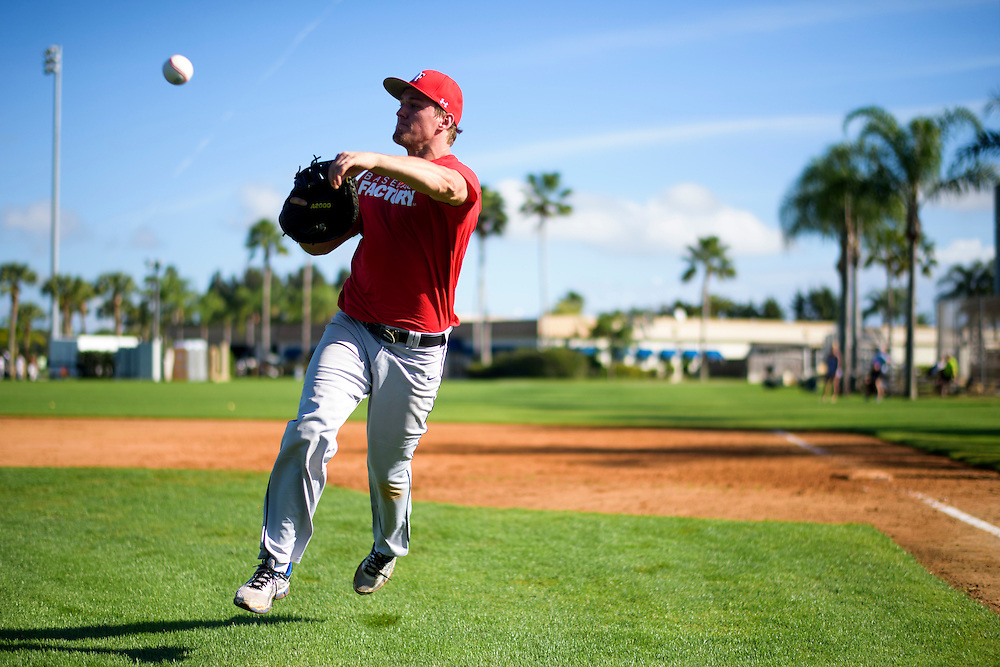Vero Beach, Florida - December 29, 2014: Baseball Factory Winter Classic at Dodger Town.<br /> <br /> CREDIT: Matt Roth