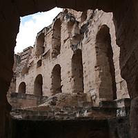 Tunisia Roman Amphitheater