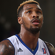 Delaware 87ers Guard SEAN KILPATRICK (14) prepares to shoot free-throws in the second half of a NBA D-league regular season basketball game between the Delaware 87ers and the Maine Red Claws  Friday, Feb. 05, 2016 at The Bob Carpenter Sports Convocation Center in Newark, DEL.