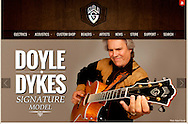 Client: Guild Guitars. Advertising for Guild Guitars Doyle Dykes Signature Series guitar. (Photo by Robert Falcetti)