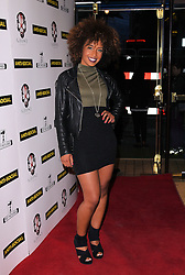 Jade Avia attends Anti-Social - UK Film Premiere at Cineworld, Haymarket, London on Tuesday 28 April 2015,
