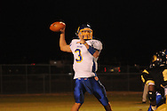 Oxford High's Parker Adamson (3) passes vs. New Hope in New Hope, Miss. on Friday, September 30, 2011. New Hope won 43-22.