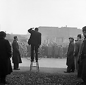 1957 - 03/04 Unemployed Protest March in Dublin