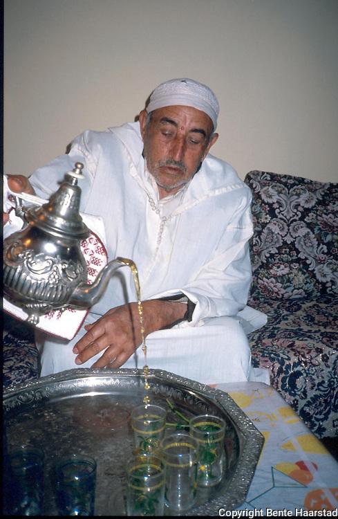 te-seremoni, Marokko..dias