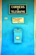 Post office in Puerto Esperanza, Pinar del Rio, Cuba.