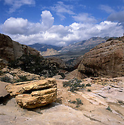 BB02638-01...NEVADA - View of Red Rock Canyon from Calico Tanks in Red Rock Canyon National Conversation Area.