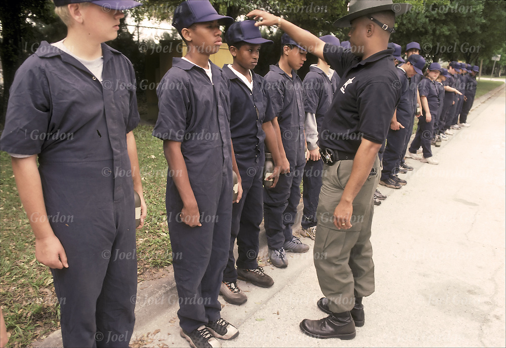 Adult boot camp juvenile program vs