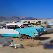 Turquoise Chevrolet - Pearsonville, CA - Lensbaby