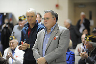 Veterans Day program at the Patricia C. Lamar Readiness Center in Oxford, Miss. on Monday, November 12, 2012.