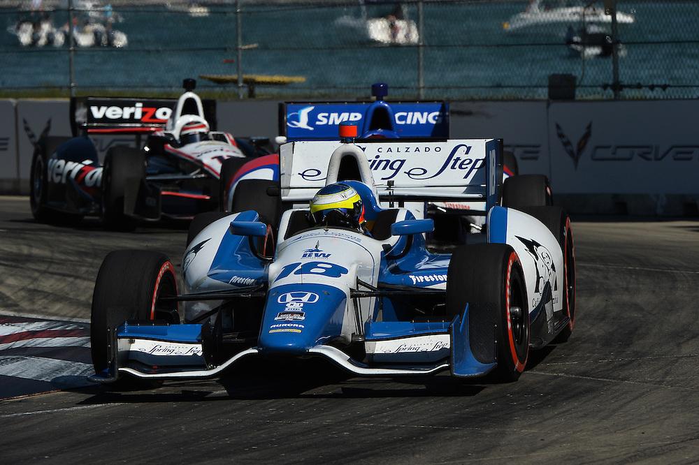 Carlos Huertas, The Raceway at Belle Isle Park, Detroit, MI USA 6/1/2014