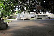 Park in Arcos de Canasi, Mayabeque, Cuba.