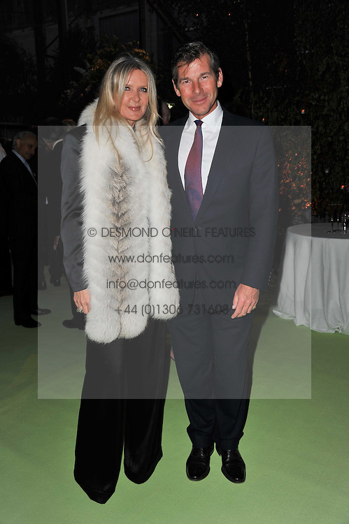 AMANDA WAKELEY and HUGH MORRISON at a dinner hosted by Cartier in celebration of the Chelsea Flower Show held at Battersea Power Station, 188 Kirtling Street, London SW8 on 23rd May 2011.