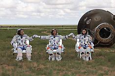 JUNE 26 2013 Shenzhou-10 Spacecraft Re-entry Capsule Landing